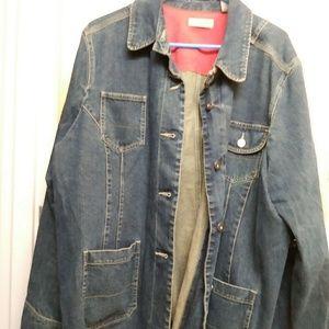 I.e jean jacket
